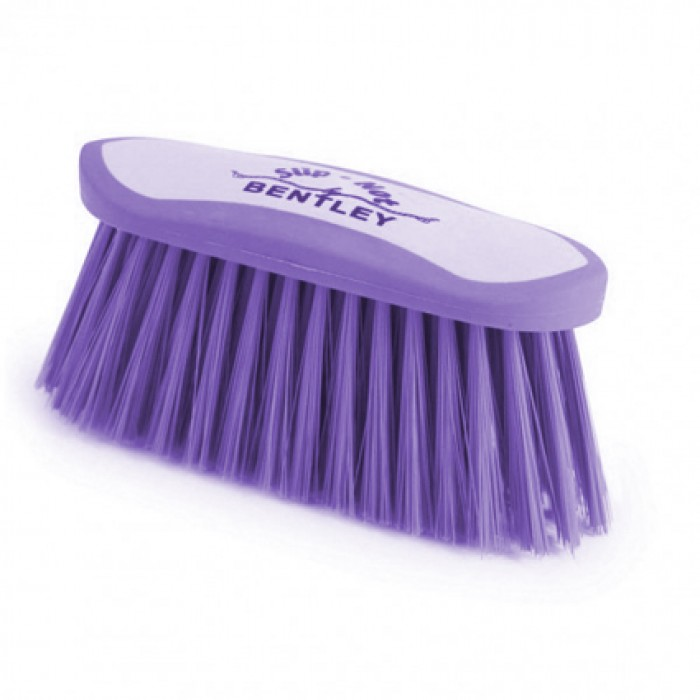 Bentley Slip Not Hoof Brush Pink At Burnhills: Bentley Slip-Not Grooming Kits In Plastic Box