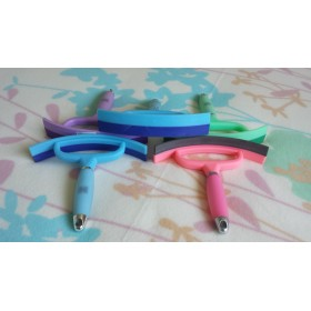 Gel Handle Sweat Scraper in Green, Lilac, Pink, Sky Blue by Polly Products