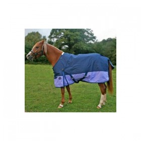 Knight Rider Pony/Foal Medium Weight Turnout Rug (without neck)