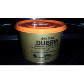 500g - Dubbin Leather Footwear Rejuventator by Elico Gold Label