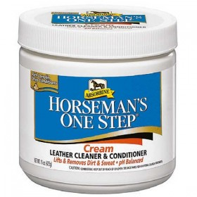Absorbine One Step Leather Cleaner (425g Pot)
