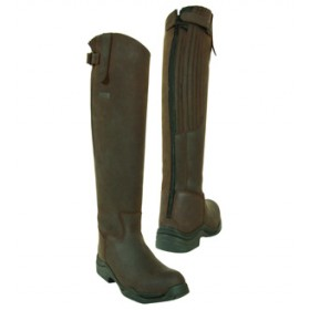 Toggi Calgary Brown Equestrian Country Boots
