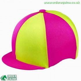 Capz Hat Silk - Fluorescent - Equestrian Road Safety