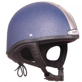 Champion Ventair Jockey Helmet - 55 to 63cm - Navy Blue