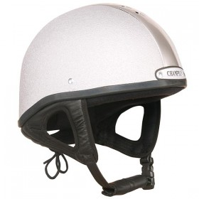 Champion Ventair Jockey Helmet - 55 to 63cm - Silver