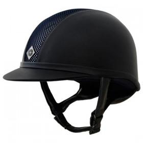Charles Owens Leather Look AYR8 - 52,53,54,55cm - Black/Black, Black/Silver, Brown/Gold, Navy/Navy, Navy/Silver