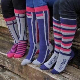 Just Togs Summer Veneto Horse Riding Socks (3 pack)