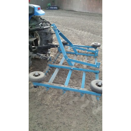 Tractor Mounted Equestrian Menege Leveller with Tines - 4ft, 5ft, 6ft, 7ft, 8ft Width