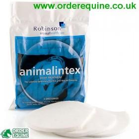 Animalintex Equestrian Hoof Poultice - 1x Pack (3 Hoof Pads)