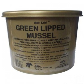 Green Lipped Mussel Equestrian Food Supplement by Elico Gold Label (450g)