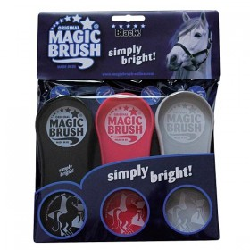 Magic Brush - Single Brushes - Cerise Pink, Grey, Black (From Black Pack)