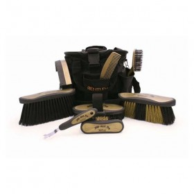 Bentley Deluxe Slip-Not Grooming Kit and Bag
