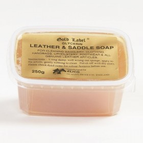 Glycerine Leather & Saddle Soap by Elico