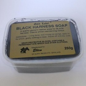 Harness Soap - Black by Elico Gold Label