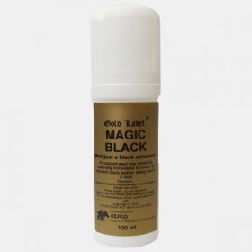 Magic Black Colour and Leather Nourish by Elico Gold Label (100ml)