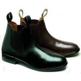 Loveson Ladies Jodphur Boot - Black in Sizes UK 3 to 8