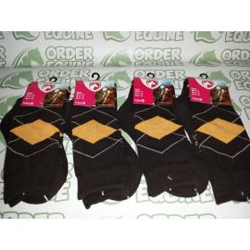Holland Excellent Equestrian Socks - Orange/Brown