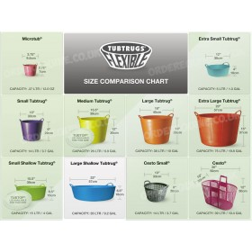 Tub Trugs Shallow - Large 35 Litre - Ideal for Morning and Evening Horse Feeds