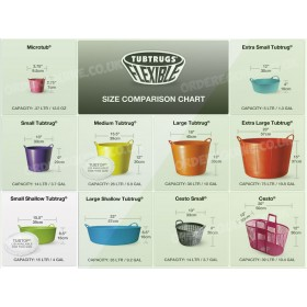 Tub Trugs Shallow - Small 15 Litre - Ideal for Morning and Evening Horse Feeds